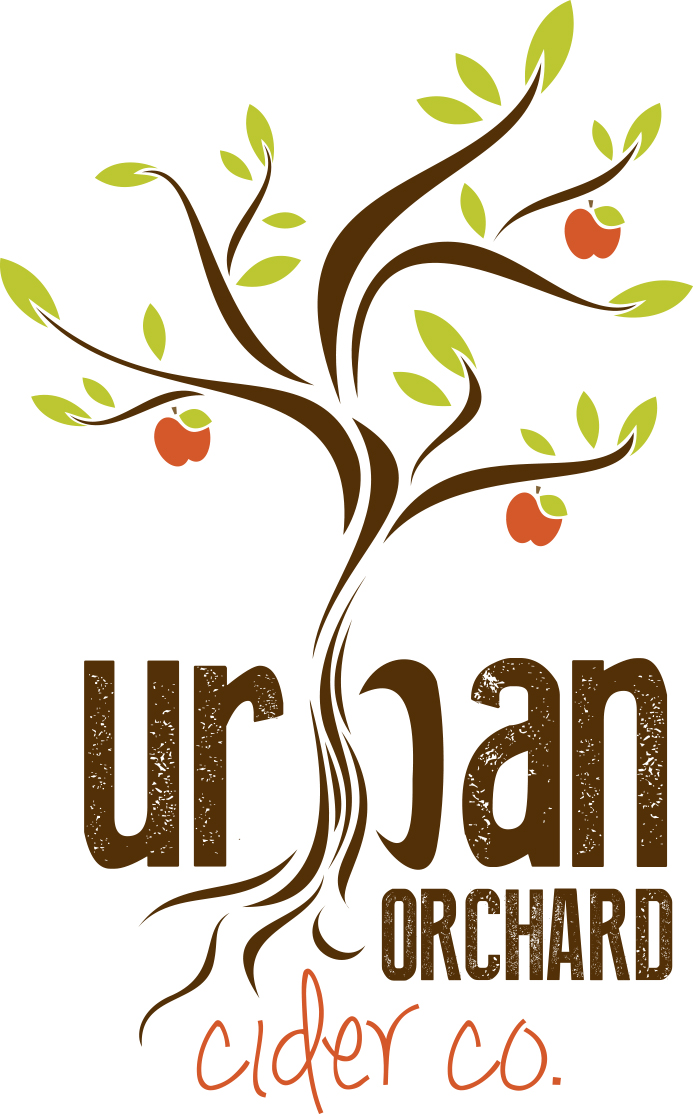 urban orchard, cider, beer, brewery, logo, concept, asheville